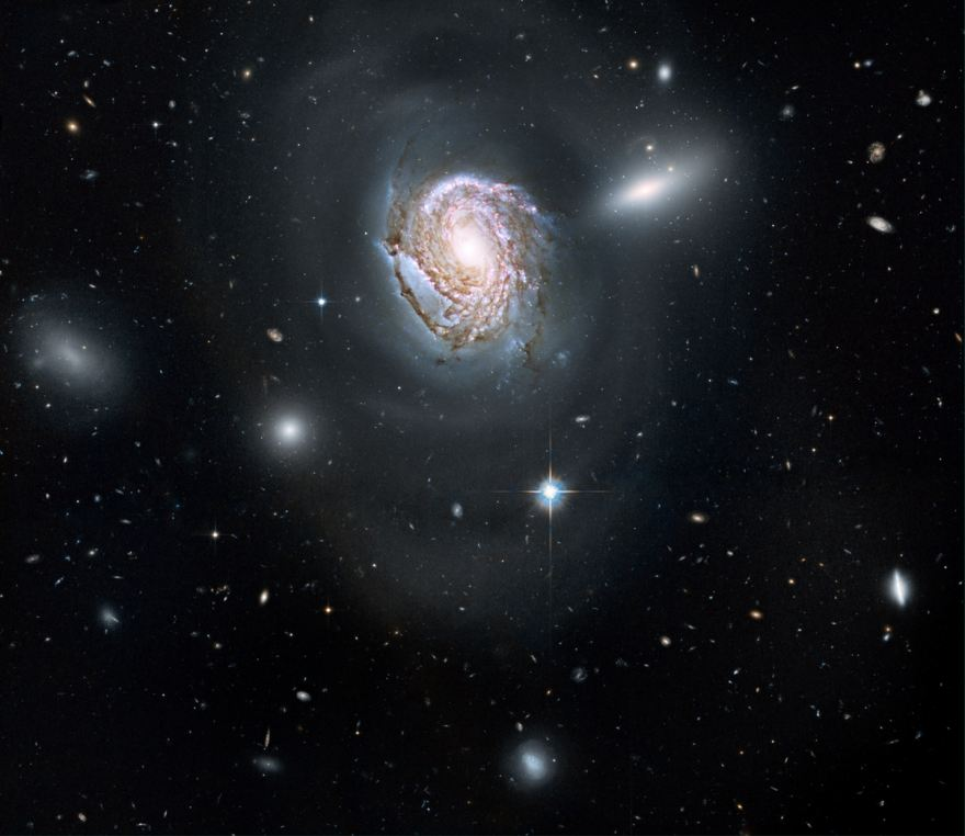 The Coma Cluster of Galaxies: Spiral galaxy NGC 4911.